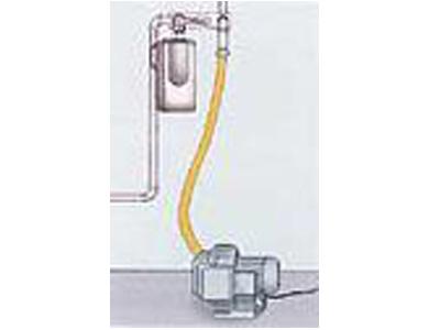 Trocknen der Gasleitung